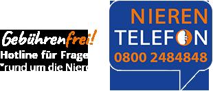 Nieren Telefon: 0800 2484848 (Gebührenfrei)